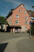 Ostansicht / Wohn- und Geschäftshaus (abgebrochen) in 79650 Schopfheim (Landesamt für Denkmalpflege Freiburg, Bildarchiv)