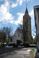 Kath. Pfarrkirche St. Pelagius- Nordwestansicht / Kath. Pfarrkirche St. Pelagius in 78628 Rottweil (Landesamt für Denkmalpflege Freiburg, Bildarchiv)