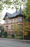Rottweil, Schramberger Straße 2- Wohnhaus, Südostansicht / Wohnhaus in 78628 Rottweil (Landesamt für Denkmalpflege Freiburg, Bildarchiv)