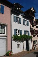 Westfassade / Wohnhaus in 78628 Rottweil (Bildarchiv Freiburg, Landesamt für Denkmalpflege)