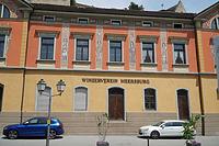 Fassade, mittlerer Bereich / Kellerei- und Wohngebäude in 88701 Meersburg (Juni 2017 - christoph kleiber denkmalmanagement)