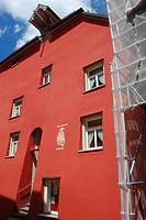 Rottweil, Hauptstraße 1- Wohn- und Geschäftshaus, Südwestansicht / Wohn- und Geschäftshaus in 78628 Rottweil (Landesamt für Denkmalpflege Freiburg, Bildarchiv)