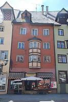 Rottweil, Friedrichsplatz 15- Ostfassade / Wohn- und Geschäftshaus in 78628 Rottweil (Landesamt für Denkmalpflege Freiburg, Bildarchiv)