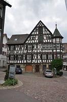 Gasthaus zum Adler, Ostseite / Gasthaus zum Adler in 77761 Schiltach (Fotoarchiv Freiburg, Landesamt für Denkmalpflege)