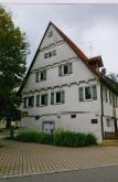 Ansicht von West. Giebel des Gebäudes von 1592. / Widdumhof (Wohnhaus, Scheune, Nebengebäude) in 71069 Sindelfingen-Maichingen (Seidel Armin)