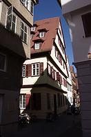 Südwestansicht / Fachwerkhaus in 72070 Tübingen (21.09.2019 - Christin Aghegian-Rampf)