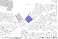 Lageplan (Vorlage LVA und LAD) / Fachwerkhaus in 72070 Tübingen