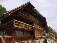 Südwestansicht  / Sog. Rummlerhof in 79199 Kirchzarten, Dietenbach (Bildarchiv, Landesamt für Denkmalpflege, Dienstsitz Freiburg)