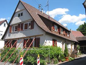 Ansicht des Gebäudes von Südwesten / Streckgehöft in 71394 Kernen-Stetten, Stetten im Remstal (2009 - Markus Numberger, Esslingen)