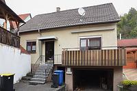 Ehem. Synagoge, Südwestfassade / Ehem. Synagoge in 74865 Neckarzimmern (29.10.2019 - Julia Feldtkeller)