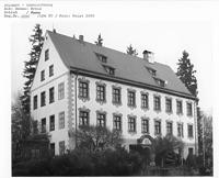 Gamerschwang, Schloss - Südwestansicht / Schloss in 89584 Ehingen-Gamerschwang (2000 - Bildarchiv, LDA, Reg.bez. Tübingen)