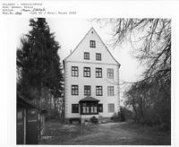 Gamerschwang, Schloss - Giebelseite / Schloss in 89584 Ehingen-Gamerschwang (2000 - Bildarchiv, LDA, Reg.bez. Tübingen)