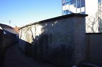Stadtmauerrest bei Schulgasse 21, Südansicht Zitronengässle / Teil der Stadtmauer  in 89584 Ehingen, Ehingen (Donau) (Christin Aghegian-Rampf)