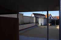 Stadtmauerrest Schulgasse 21, Nordostansicht von Zitronengässle / Teil der Stadtmauer  in 89584 Ehingen, Ehingen (Donau) (15.02.2019 - Christin Aghegian-Rampf)