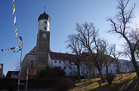 Ehem. Franziskanerkloster - Nordwestansicht / Ehem. Franziskanerkloster in 89584 Ehingen (Donau) (15.02.2019 - Christin Aghegian-Rampf)