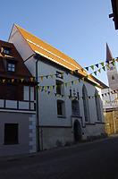 Ehem. Heilig Geist Spital, Ansicht Südwest von Kasernengasse / Ehem. Heilig- Geist Spital, profanierte Kapelle, jetzt städt. Museum in 89584 Ehingen (Donau)