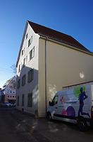 Wohnhaus, Burghof 1, Nordostansicht / Wohnhaus in 89584 Ehingen, Ehingen (Donau) (15.02.2019 - Christin Aghegian-Rampf)