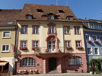 """Südliche Traufseite / """"Neues Rathaus"""", sog. Haus Krebs, ehem. Wohnhaus in 79346 Endingen (Landesamt für Denkmalpflege, Dienstsitz Freiburg,  Ref. 82, 83.3)"""