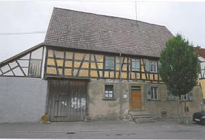 Traufansicht Nord / Wohnhaus in 74206 Bad Wimpfen (Armin Seidel)