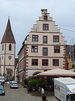 Ehem. Kornhaus, Nordansicht / Ehem. Kornhaus, heute Rathaus in 79346 Endingen (Bildarchiv, Landesamt für Denkmalpflege)