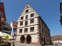 Ehem. Kornhaus, Nordwestansicht / Ehem. Kornhaus, heute Rathaus in 79346 Endingen (Bildarchiv, Landesamt für Denkmalpflege)