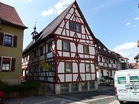 Südostansicht / Rathaus in 78570 Mühlheim an der Donau (Bildarchiv, Landesamt für Denkmalpflege, Dienstsitz Freiburg)