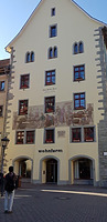 Nordfassade / Wohn- und Geschäftshaus, sog. Hohes Haus in 78462 Konstanz (Bildarchiv, Landesamt für Denkmalpflege, Dienstsitz Freiburg)