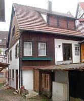 Gesamtansicht von Westen. / Wohnhaus in 77761 Schiltach (Stefan Uhl)