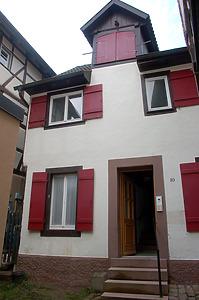 Blick von Norden auf den östlichen und mittleren Teil der nördlichen Traufseite. / Wohnhaus in 77761 Schiltach (Stefan Uhl)