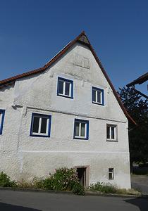 Ansicht Ostgiebel / Ehem. Dorfmühle in 78315 Möggingen (Burghard Lohrum)