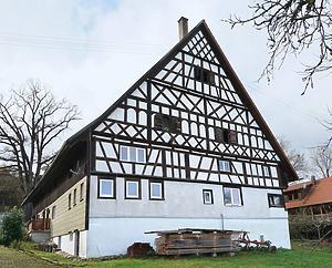 Giebelansicht / Fachwerkhaus in 78658 Flözlingen (Stefan King)