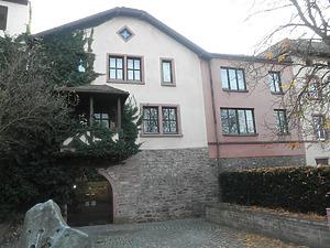 Ansicht Nordseite / Wohnhaus (ehem. Gerberhaus) in 97877 Wertheim (14.11.2011)