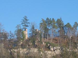 Blick auf die Ruine / Ruine Wehrstein in 72172 Sulz-Fischingen (Alois Gfrörer)