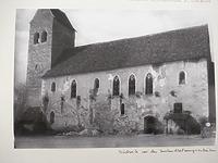 Ansicht (historisch) / Ev. Pfarrkirche St. Cyriak in 79295 Sulzburg (Südwestdeutsches Archiv für Architektur und Ingenieurbau)