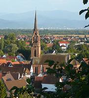 Ansicht / Ev. Kirche in 79331 Teningen-Köndringen (2019 - Martin Gutmann)