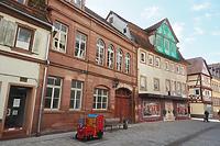 Wohnhaus, Eckhaus mit Rückgebäude in 97941 Tauberbischofsheim (2020 - Foto: Ingrid Winklmann)