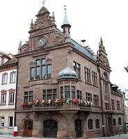 Ansicht Rathaus / Rathaus in 88605 Meßkirch (2014 - Karin Uetz)