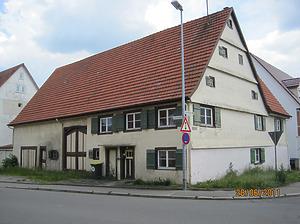 Straßenansicht / Wohn- und Ökonomiegebäude (abgegangen) in 78647 Trossingen (2011 - Winfried Klaiber)