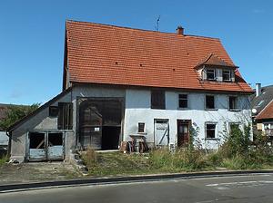 Straßenansicht / Wohn- und Ökonomiegebäude (abgegangen) in 78609 Tuningen (2017 - Martin Vosseler)