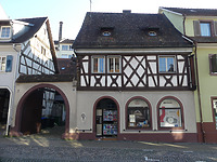 Straßenansicht / Wohn- und Geschäftshaus in 79346 Endingen (2020 - Burghard Lohrum)