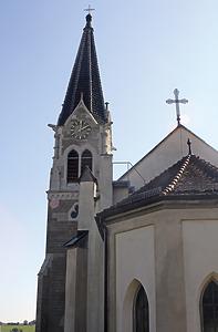 Nord-West-Ansicht / Heilandskirche in 88605 Meßkirch (2016 - Eppler und Bühler)