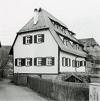 Ansicht von Westen / Kasernenhof, Werkstattgebäude in 72074 Tübingen-Bebenhausen