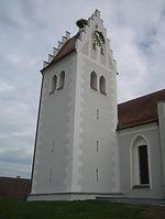 Ansicht Nord/West / Pfarrkirche St. Lucia in 88356 Ostrach-Levertsweiler (2016 - Peter Dreher)