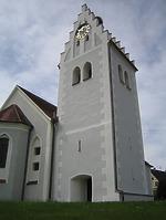 Ansicht Nord/Ost / Pfarrkirche St. Lucia in 88356 Ostrach-Levertsweiler (2016 - Peter Dreher)
