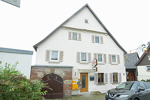 Gasthaus Löwen, Hertmannsweiler. / Gasthaus Löwen in 71364 Winnenden - Hertmannsweiler (Michael Hermann, Büro für Bauvermessung und Bauforschung, Heimerdingen.)