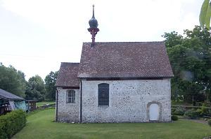 Ansicht Nord / Kapelle St. Mauritius in 88356 Ostrach-Burgweiler, Waldbeuren (2015 - Robert Lung)