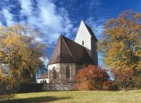 Blick von Nordosten / Feldkirche, Evangelische Kirche Aichelberg in 73773 Aichwald-Aichelberg