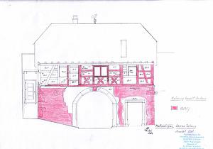 Ansicht Osten / Torhaus in 79364 Malterdingen (2020 - Burghard Lohrum)