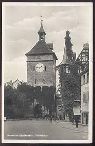 Alte Postkarte / Schnetztor in 78462 Konstanz (Burghard Lohrum)