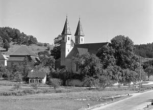 Kath. Pfarrkirche St. Michael in 72519 Veringenstadt-Veringendorf (1965-80 -  Bildarchiv Foto Marburg / Foto: Schmidt-Glassner, Helga; Aufn.-Datum: 1965/1980)